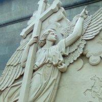 Ангел хранитель сделанный из песка. (Санкт-Петербург) :: Светлана Калмыкова