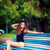 На скамейке :: Сергей