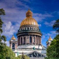 Исаакиевский собор весной :: Фотограф Андрей Журавлев