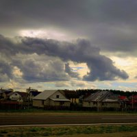 небо над окраиной Гомеля :: Александр Прокудин