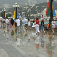 В Ялте дождь :: Игорь Кузьмин