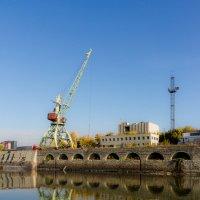 Речной порт (в период упадка) Новосибирска. Фрагмент :: Алексей (АСкет) Степанов