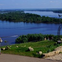 Елабуга, Кама :: Алексей Golovchenko