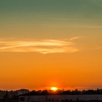 Закат над городом :: Александр Витебский