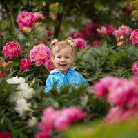 Цветочный ангел :: Юлия Ларина