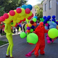 Актеры на улицах города. :: Чария Зоя