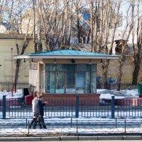 Самая старая автозаправка Москвы :: Оксана Пучкова