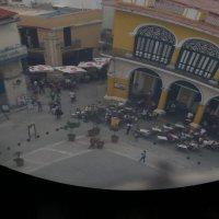 """Так выглядит в древнем """"перископе"""" угол пл. Виеха (Гавана, Куба) :: Юрий Поляков"""