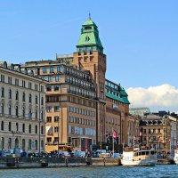 Отель Radisson Blu Strand в Стокгольме. :: Олег Попков