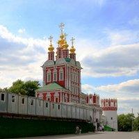 Новодевичий монастырь, центр. вход. :: Инна Щелокова