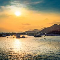 Река Кай в городе Нячанг, Вьетнам. :: Дмитрий Тафров