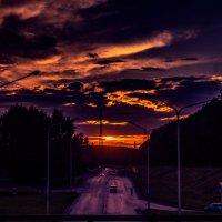 Самый яркий и прекрасный закат! :: Артем