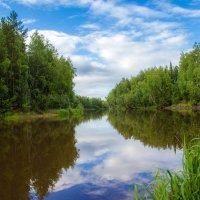 на реке после дождя... :: Сергей