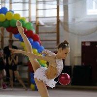 Художественная гимнастика.мяч. :: Наталья Мацкевич