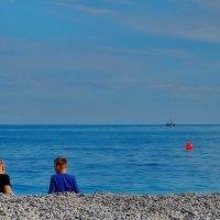 Разговор у моря :: M Marikfoto