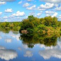 Крутой поворот реки :: Милешкин Владимир Алексеевич