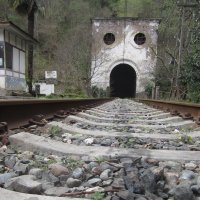Железнодорожный туннель.Абхазия :: Marina Mikhailova