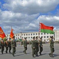 Прохождение торжественным маршем. :: владимир ковалев