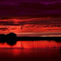 Карельские закаты :: Валентина Ломакина