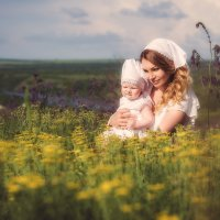 Мама и дочь :: Валерия Ступина