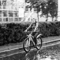 Велопрогулка под дождём :: Игорь Сон