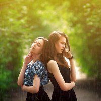 Серебро дождя :: Сергей Бутусов