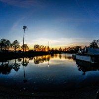 Закат на Петровском острове :: Оксана Смолкина