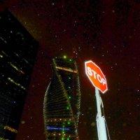Вечер .Башня .Срывается снег. :: Alexey YakovLev