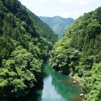 река Тамагава в верховьях :: Cawa Xpy