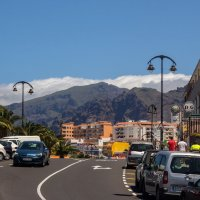 Горы над Пуерто де Сантьяго :: Witalij Loewin