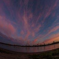 розовые облака :: Николай Буклинский