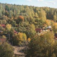 Живописный город Плёс в сентябре :: Юлия Васильева