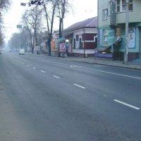 Автодорога  в  Ивано - Франковске :: Андрей  Васильевич Коляскин