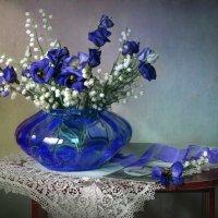 Этюд с синей вазой :: lady-viola2014 -