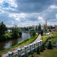 Река Цна.Набережная Тамбова. :: Александр Селезнев