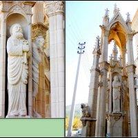 Кабардинка. Готический фонтан в Старом парке :: Нина Бутко