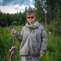Рыбачок Егорка. :: Виктор Грузнов