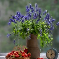 Цветочно-ягодный :: Вера