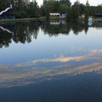 А сверху по небу плывут облака... :: Александр Жукович