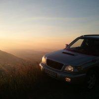 И виднеется закат с горы Бештау.. :: татьяна вашурина
