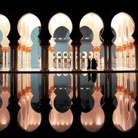 В мечети шейха Заида :: Рустам Илалов