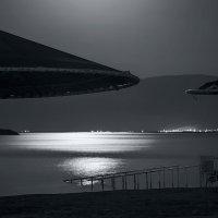 ночной пляж Мёртвого моря... :: Павел Баз
