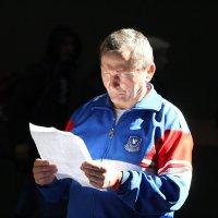 Тренер по борьбе. :: Дмитрий Иншин