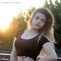 Девушка с волосами цвета пшеницы :: Alena Andreena