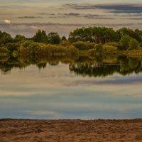 Вечер у озера :: Андрей Дворников
