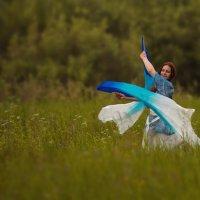 За расплетённым ветром (этюд) :: DewFrame Илья Ягодинский