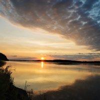 Восход солнца на Амурской протоке. :: Поток