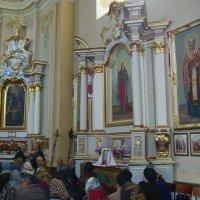 Греко - католический  храм  в  Городенке :: Андрей  Васильевич Коляскин