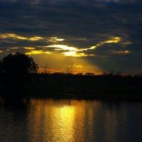 Моя ночная рыбалка :: Юрий Рачек