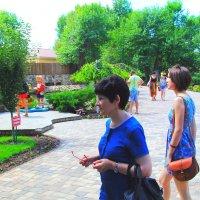 В парке летом :: Юрий Гайворонский